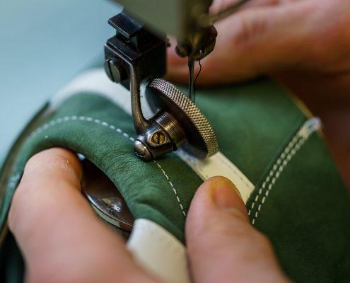 Herstellung der Schuhe